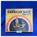American Maid Tea Set w/Original Box