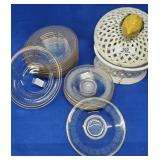 Large Assortment of Plates & a Covered Bowl
