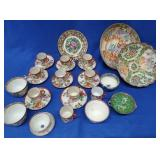 Assorted Oriental Rose Medallion China