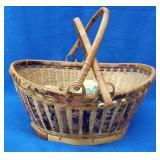 Double Handled Basket w/Stone Fruit