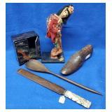 Wood Utensils, Wood Shoe Mold, Oriental Items