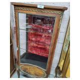Vernis Martin Vintage Curio Cabinet
