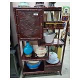 Vintage Oriental Étagère