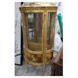 Vintage Vernis Martin Curio Cabinet