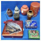 Flat of Oriental Items