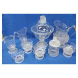 Flat of Assorted Glassware