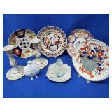 4 Oriental Porcelain Plates & Miscellaneous