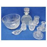 Assorted Glassware Items