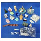 Flat of Assorted Sniff Bottles & Miscellaneous