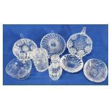 Assorted Cut Glassware
