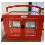 Red Oriental Tabletop Showcase