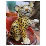 Ceramic Leopard Cub