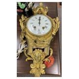French Ormolu Wall Clock