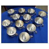 12 Silver Plated Cups