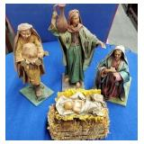 4 Nativity Scene Figures