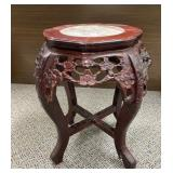 Antique Chinese Rosewood Planter Stand