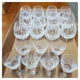 Assorted Stemmed Glassware