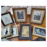 Miscellaneous Framed Prints - 7 Total