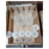 18 Assorted Glasses