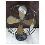 Emerson Electric Fan w/Brass Blades