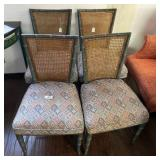 4- Bamboo Dining Chairs