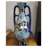 Large Ceramic Handled Vase