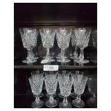 16 Waterford Stemmed Water Goblets