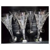 6 Waterford Long Stemmed Goblets