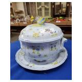 French Porcelain Tureen w/Underplate