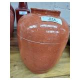 Vintage Orange Vase