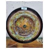 Large Crystal Platter
