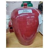 Vintage Oriental Oxblood Vase