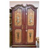 """Beautiful 4 Door Cabinet, 78"""" Tall x 48"""" Wide"""
