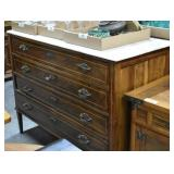 Marble Top 4 Drawer Chest
