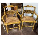 Pr L Hitchcock  Arm Chairs