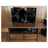 31-Inch Samsung TV, Cabinet, & Miscellaneous