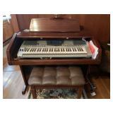 Yamaha Keyboard, Organ/Desk, and Bench