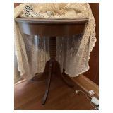 Duncan Phyffe-Style Table & Misc