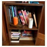 Book Case and Books