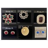 Eisenberg Pins & Earrings