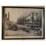 Limited Edition River Boat Print