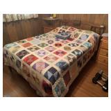 Vintage Three-Piece Full Size Bedroom Suite