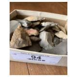 Box of Flint / Arrowheads