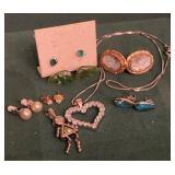 Diamond Earrings & Misc