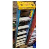 Werner 8-Foot Fiberglass Step Ladder