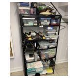 Shelf, Ham Radio Parts, and Miscellaneous