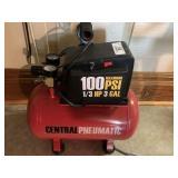 100 PSI Portable Air Compressor