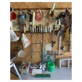Tools, Garage Chemicals, and Miscellaneous