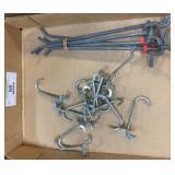 Peg Board Bracket Hooks