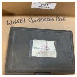 Wheel Centering Pins